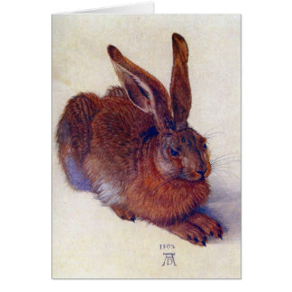 Albrecht Durer - Field Hare GC Card