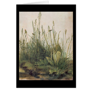 Albrecht Durer Great Piece of Turf Card