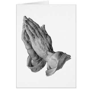 Albrecht Durer - Hands Praying Card