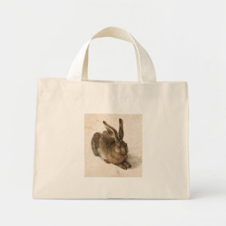 Albrecht Dürer - Junger Hase (Young Hare), 1502 Mini Tote Bag