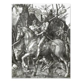"Albrecht Durer ""Knight Death and the Devil"" Gothic Photo"