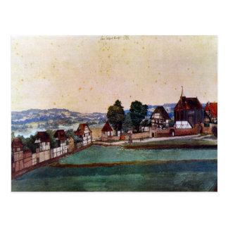 Albrecht Durer - Nuremberg Suburb with a church an Postcards