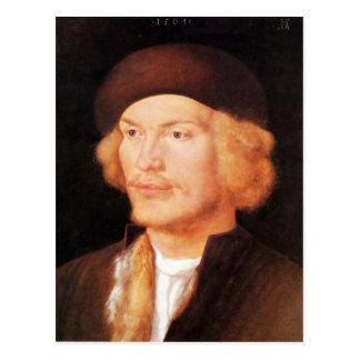 Albrecht Durer - Portrait of a young man 2 Postcard