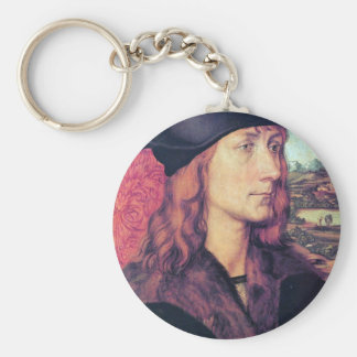 Albrecht Durer - Portrait of Hans Tucher Key Chain
