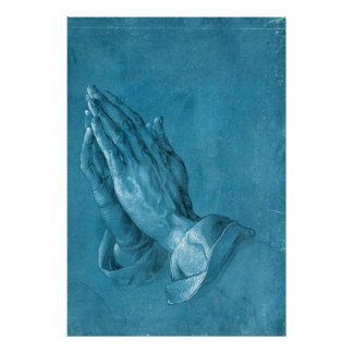 Albrecht Dürer Praying Hands Poster