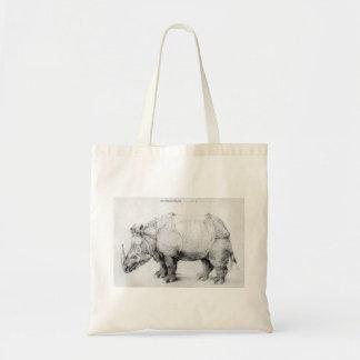 Albrecht Durer Rhinoceros Tote Bag