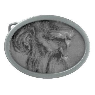 Albrecht Durer Sketch Oval Belt Buckles