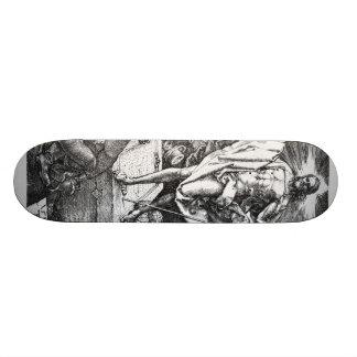 Albrecht Durer Sketch Skate Deck