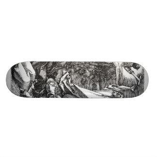 Albrecht Durer Sketch Skate Board Deck