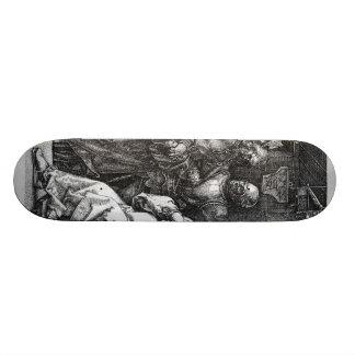 Albrecht Durer Sketch Skateboard Deck