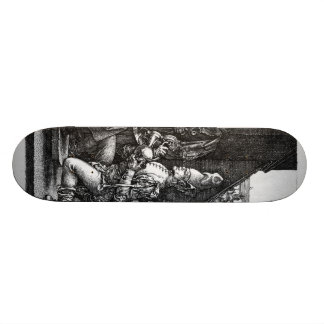 Albrecht Durer Sketch Custom Skate Board