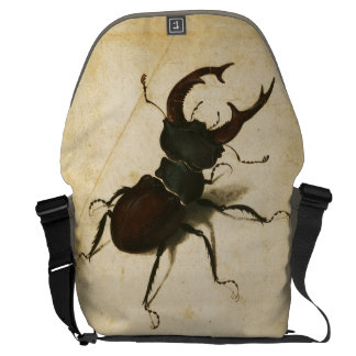 Albrecht Durer Stag Beetle Renaissance Vintage Art Courier Bag