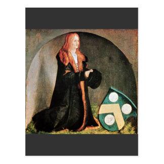Albrecht Durer - The founder Jacob Heller Postcard