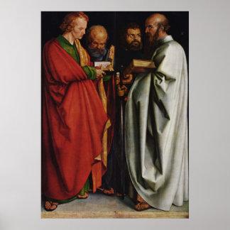 Albrecht Durer The Four Apostles Poster