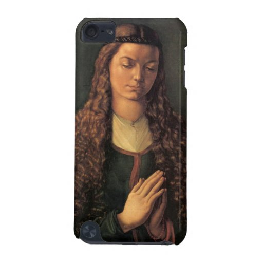 Albrecht Durer - Woman with curly hair iPod Touch 5G Covers