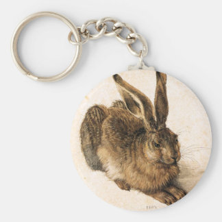 Albrecht Durer Young Hare Key Chain