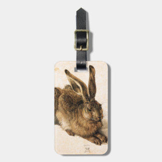 Albrecht Durer Young Hare Luggage Tag