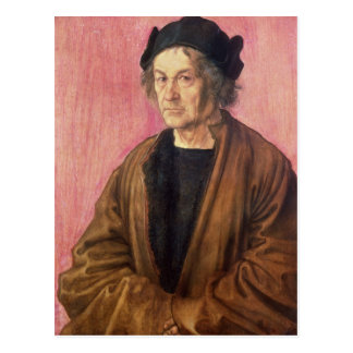 Albrecht Durer's Father, 1497 Postcard
