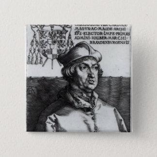 Albrecht of Brandenburg, 1519 15 Cm Square Badge
