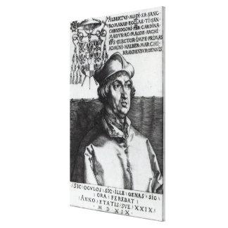 Albrecht of Brandenburg, 1519 Canvas Print