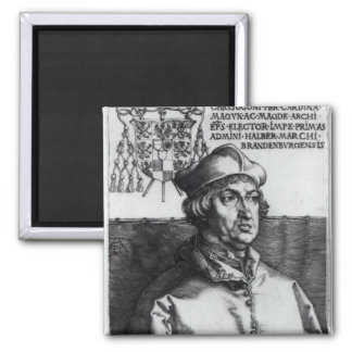 Albrecht of Brandenburg, 1519 Square Magnet