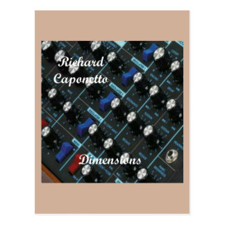 Album cover for the album Dimensions Postcard