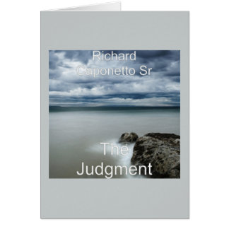 Album covers art for The Judgment Greeting Card