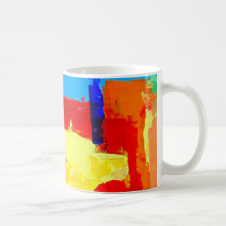 Albuquerque Abstract Cityscape Mug