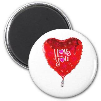 albuquerque balloon i love you magnet