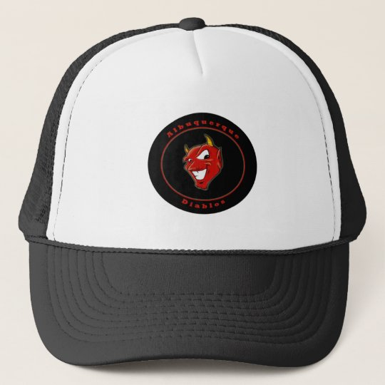 Albuquerque Diablo Circle Trucker Hat