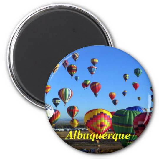 Albuquerque fridge magnet