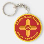 Albuquerque New Mexico Key Chains