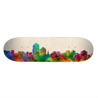 Albuquerque New Mexico Skyline Cityscape Skate Deck