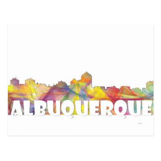 ALBUQUERQUE SKYLINE MCLR2 POSTCARD
