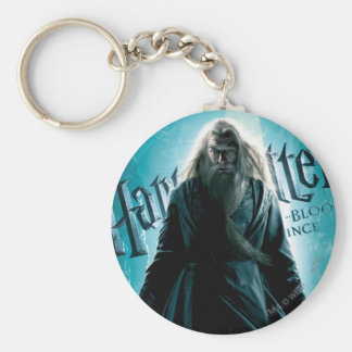 Albus Dumbledore HPE6 1 Basic Round Button Key Ring