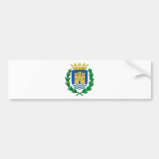Alcalá de Henares (Spain) Coat of Arms Bumper Stickers