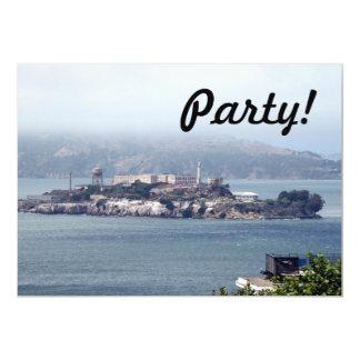 Alcatraz 13 Cm X 18 Cm Invitation Card