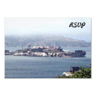 Alcatraz 9 Cm X 13 Cm Invitation Card