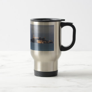 Alcatraz at Dawn Stainless Steel Travel Mug