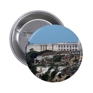 Alcatraz 6 Cm Round Badge