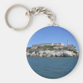 Alcatraz Basic Round Button Key Ring