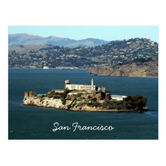 alcatraz bay postcards