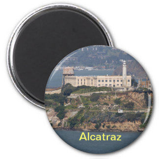 alcatraz fridge magnet