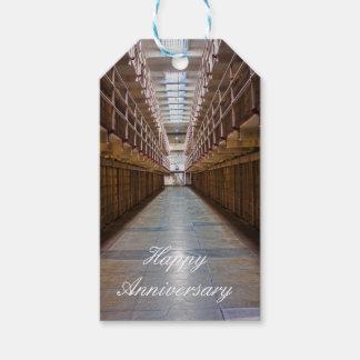 Alcatraz Happy Anniversary gift tag