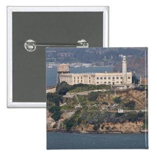 Alcatraz Island 2 15 Cm Square Badge