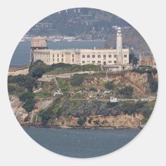 Alcatraz Island 2 Round Sticker