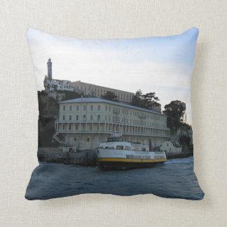 Alcatraz Island 3 Throw Pillow