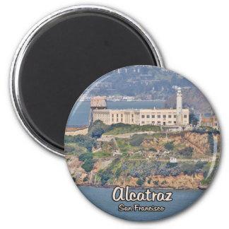 Alcatraz Island 6 Cm Round Magnet
