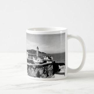 Alcatraz Island Lighthouse Basic White Mug