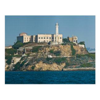 Alcatraz Island Prison San Francisco Bay Postcard